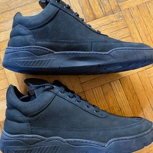 Filling pieces low top, Monotone space navy, 42/9